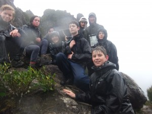 Tauhinu Sea Scouts Top of the Pinnacles 3 August 2014